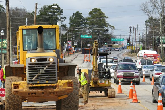 Business owners and operators on Candler Road will get an update on the ongoing construction on the corridor that has ...