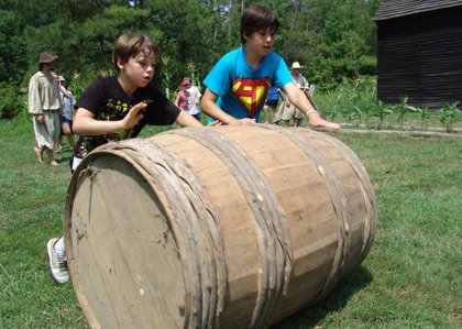Kids can find out if they have what it took to survive in the New World during Survivor 1661 Mini-Camp at HSMC in July.