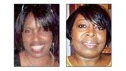 Shelley Amos (left) and Cheryl Burton died Feb. 19, 2011 in a crash with a DeKalb Police car.