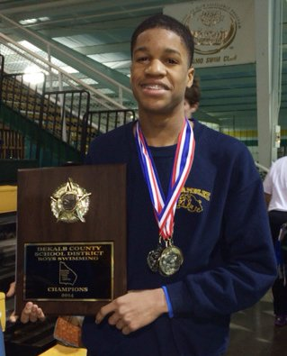 Chamblee Charter High junior Jacob Jordan is making waves in competitive swimming.