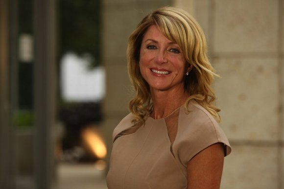 BBQ fundraising event for candidate Wendy Davis.