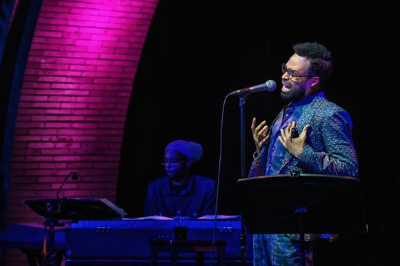 The intimate performance space tucked away on the second floor of the Harlem Stage Gatehouse hummed with the murmurs of ...