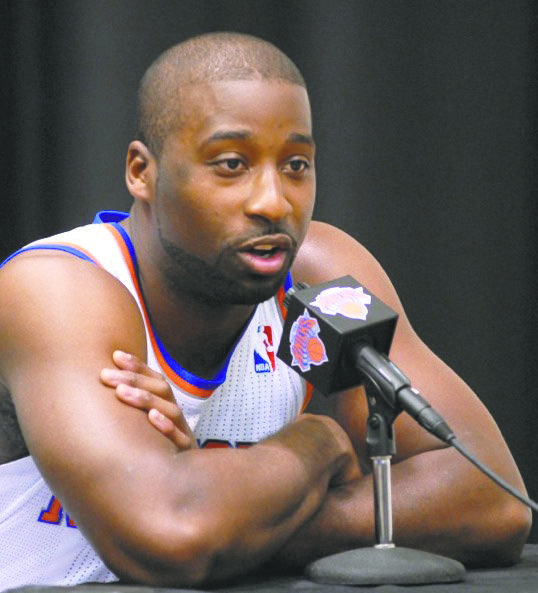 Raymond Felton has had an unproductive season on the court and is now 0-1 off the court.