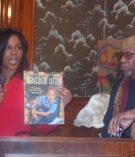 Ilyasah Shabazz with Herb Boyd