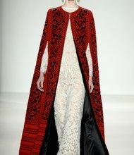 Fall '14 designs by Tadashi Shoji.