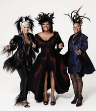 Nona Hendryx, Patti LaBelle and Sarah Dash of Labelle