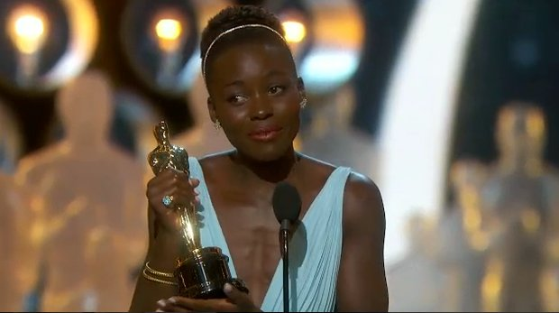"Lupita Nyong'o won the Academy Award for best supporting actress on March 2 for her performance in ""12 Years a Slave,"" her first role in a feature film."