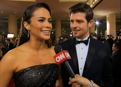 "Robin Thicke's new album ""Paula"" is inspired by his estranged wife Paula Patton, but he hasn't seen the woman herself ..."