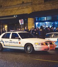 A sold-out Hip-Hop show at the Blue Monk ended before it got fully started Saturday night when performer Illmaculate took the stage, stating that he would not perform as a result of an ever-swelling police presence that engulfed both the immediate blocks around the southeast Portland venue, and inside the club.