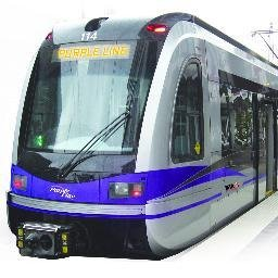 A federal agency has recommended funding $100 million toward the proposed Purple Line railway project in Maryland.