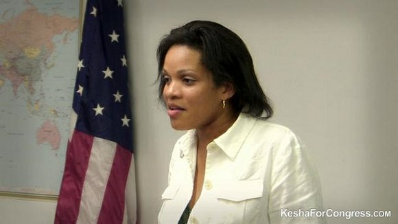 Lakesha (Kesha) Rogers won a May 27 run-off berth for the Democratic Party nomination for US Senate this past Tuesday ...