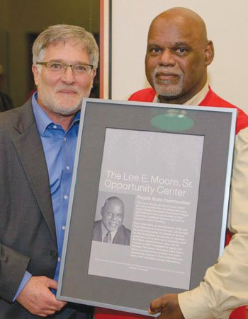 Home Forward has honored longtime board member Lee Moore in a big way after his announcement of retirement. A community ...
