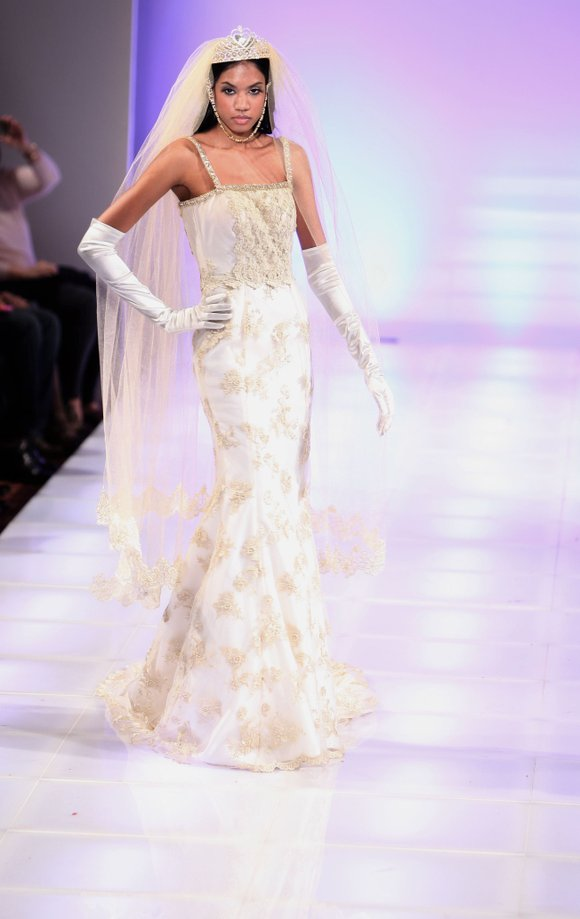 TeKay Designs, a couture house based in Houston, Texas, presented an impressive Queen of the Brides collection in New York.