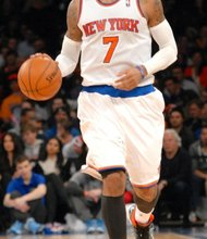 Carmelo Anthony has to be tired; he has carried the Knicks on his back for much of the season.