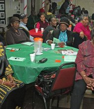 Seniors of Stuyvesant Heights Neighborhood Center at the 2014 Intergenerational Black History celebration
