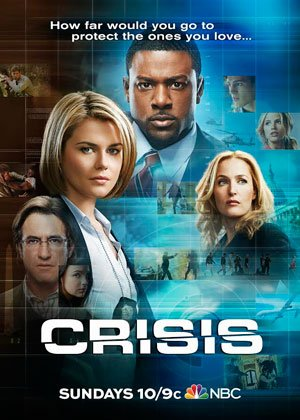Gillian Anderson, Dermot Mulroney and Lance Gross star in CRISIS, an emotionally charged new drama series about having to choose ...