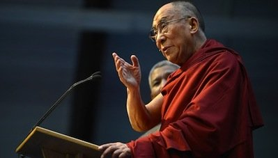 The Dalai Lama spoke at the National Cathedral in Washington on March 7. (Courtesy photo)