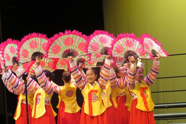The FEBC Korea Children's Choir mesmerized the audience at a free concert on March 6 at the Porter Sanford III Performing Arts Center in Decatur.