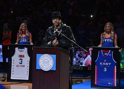 The Philadelphia Sixers recently honored Allen Iverson by retiring his No. 3 jersey during a ceremony at halftime of a ...