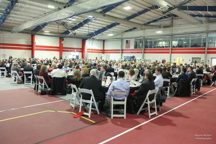 The 2014 Romeoville State of the Village Address was sponsored by the Romeoville Chamber of Commerce and was held March 6 at Lewis University.