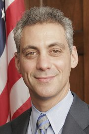 "Chicago Mayor Rahm Emanuel is featured in the documentary, ""Chicagoland."