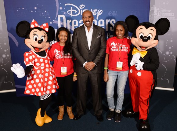 inety-nine dreamers descended on Walt Disney World last week to participate in the seventh annual Disney Dreamers Academy with Steve ...