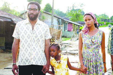 "Chiwetl Ejiofor and Thandie Newton star in ""Half of a Yellow Sun."" (Courtesy of AFI Silver Theatre and Cultural Center)"