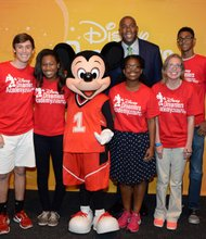Dreamers with Magic Johnson and Mickey Mouse
