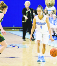 Taylor Ward has a lot of game going for her, but the Columbia point guard wants to be a coach
