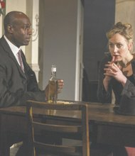 "Steve Toussaint and Hattie Morahan in BAM's production of ""A Doll's House"""