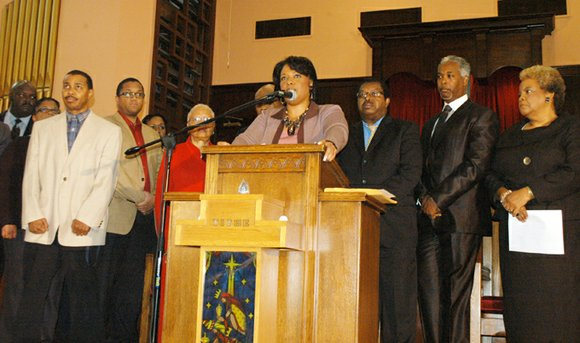 Bernice King, the daughter of civil rights icon Dr. Martin Luther King Jr., said Thursday that she will surrender her ...