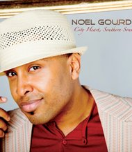 Album cover for Noel Gourdin's album titled City Heart, Southern Soul.