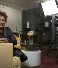 Harriette Cole of The Root Live: Bring it to the Table web series