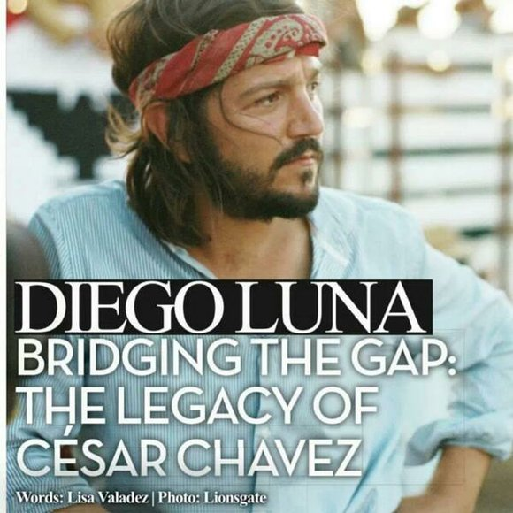 Diego Luna speaks about the making of the film César Chavez.