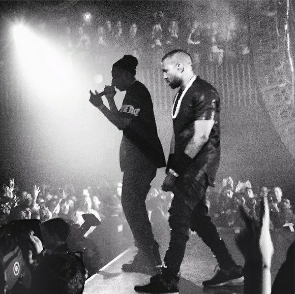 Jay Z and Kanye perform at SXSW