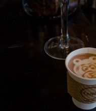 Photo of hot chocolate at Lenox Cafe taken by Mikhael Simmonds
