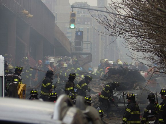 Those two New York buildings where eight people died in an explosion were served by a very old gas main ...