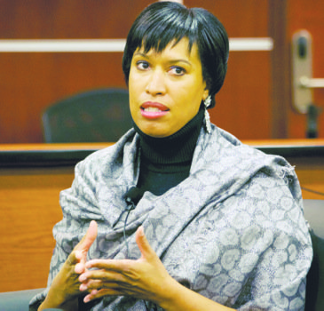 Muriel Bowser has been on the stump since March of last year, trying to cement her bid to succeed D.C. ...