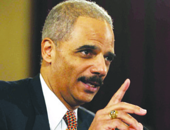 U.S. Attorney General Eric Holder (Courtesy photo)