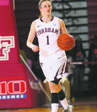 Erin Rooney is the heart and soul of Fordham's Lady Rams.