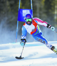 Paralympic skier Ralph Green, a true native of Brooklyn