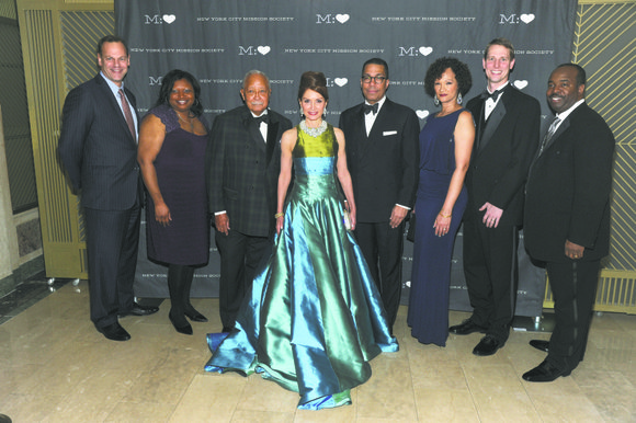 The New York City Mission Society held the Champions for Children Gala at the Plaza Hotel
