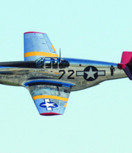 Taken at the Gathering of Mustangs, Columbus, Ohio.  P-51 B painted in the colors of the Tuskegee Airmen.