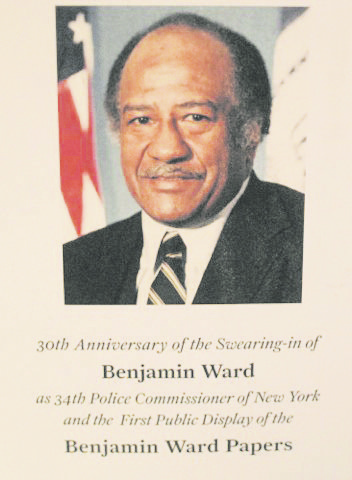 Folks came out to honor the 30th anniversary of the swearing-in of Benjamin Ward