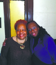 Sandra Galloway and Antoinnette Donegan