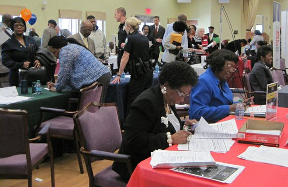 More than 1,000 older residents turned out for the AARP Foundation's 50+ Job Fair at the Lou Walker Senior Center ...