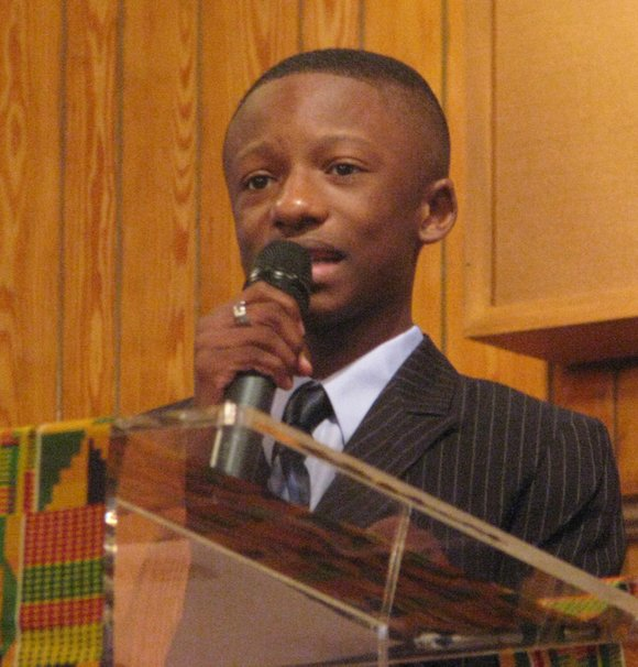 Sixteen-year-old the Rev. Jared Sawyer Jr. will be the keynote speaker for the DeKalb NAACP's annual membership breakfast on March ...