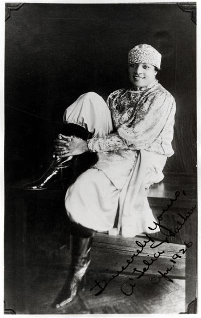 The daughter of the Madam C.J. Walker, A'Lelia Walker was the bad girl of the Harlem.