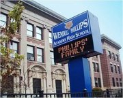 For more information about Behind the Paws class at visit http://www.phillips.cps.k12.il.us/.  Wendell Phillips Academy High School is a Chicago Public School/Academy of Urban School Leadership School.