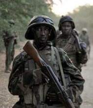 Somalian soldiers
